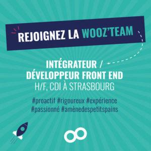 Offre emploi Intégrateur, développeur Strasbourg - Wooz'up, agence de communication